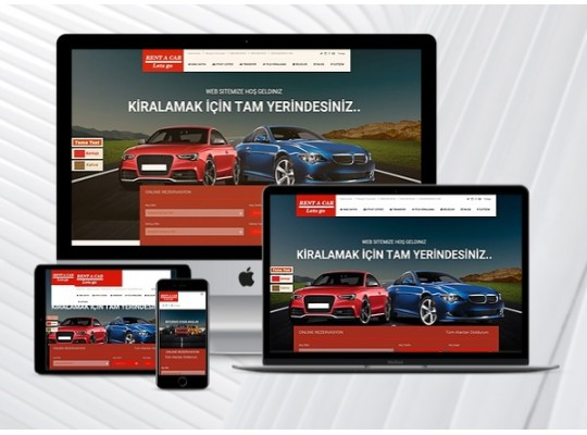 Rent a car & Oto Galeri Web Paketi 1